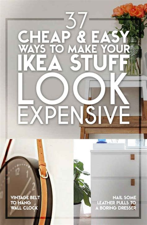 home decor stuff for cheap 37 cheap and easy ways to make your ikea stuff look