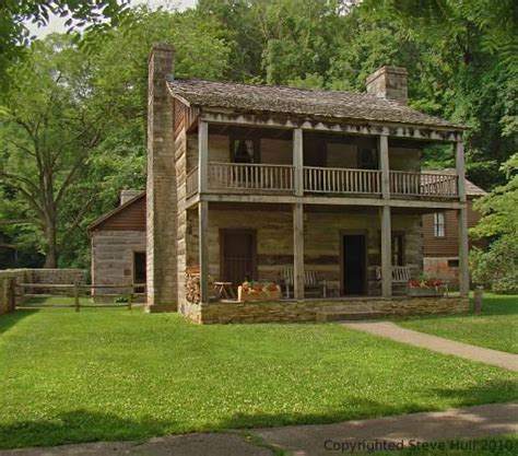 2 Story Log Cabin by Two Story Log Cabin For The Home