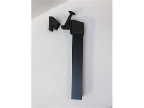echelle de decoration 1227 kit arr 234 t de vantail 250 mm coloris noir 64641