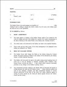 graphic artist contract template consignment agreement template best word doc 460595