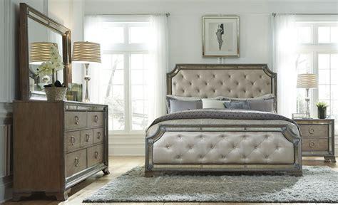 light wood bedroom set karissa light wood upholstered panel bedroom set from