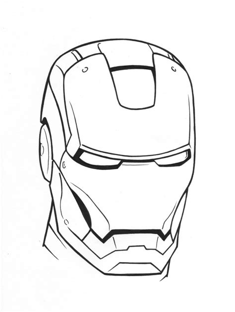 coloring page iron ironman coloring pages only coloring pages