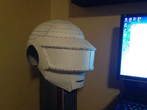 Daft Helmet Papercraft - daft helmet pepakura wip by akebane on deviantart