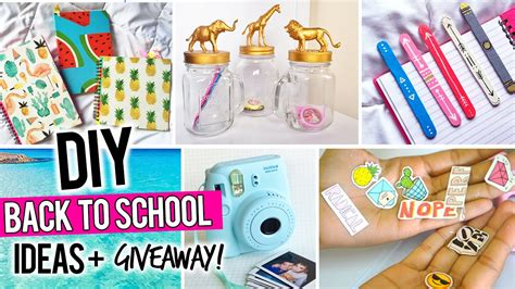 ideas for to make at school diy back to school ideas instax mini giveaway