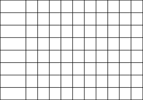 grid chart template plain monthly charts calendar template 2016