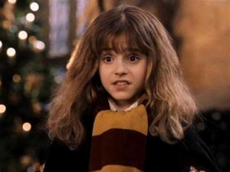 hermione granger in the 1st movoe hermine granger in teil 1 youtube