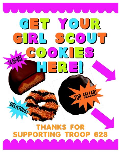 themes for girl scout c 51 best images about fundraising poster ideas on pinterest