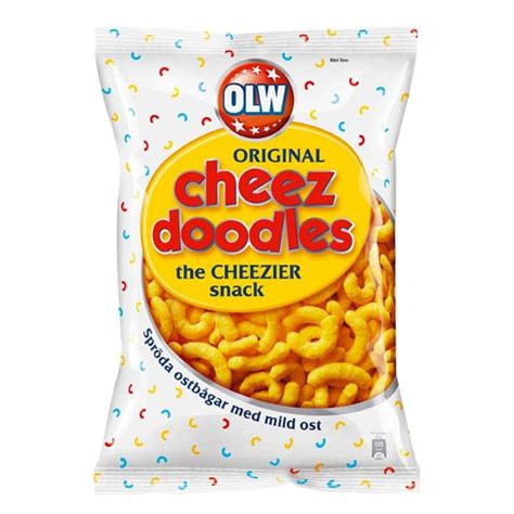 Easter Egs by Olw Original Cheez Doodles 160g From Ocado