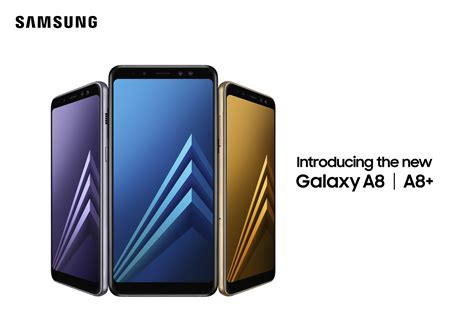 Samsung A8 Hdc samsung unveils galaxy a8 and a8 2018 smartphones with