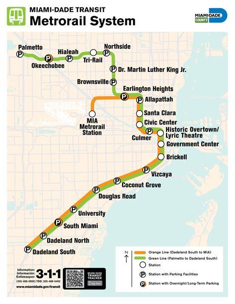 metrorail map transit maps