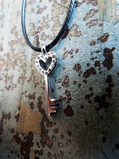 Handmade Stainless Steel Jewelry - pendant key silver handmade necklace stainless steel