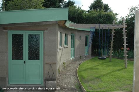 Rammed Earth Shed by Rammed Earth Eco Shed From Potter Heigham Norfolk Owned