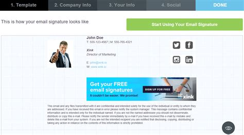 email layout generator business email email signature generator design templates