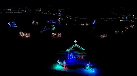 frankfort indiana lights drone flight frankfort tpa park lights with