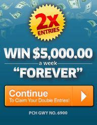 Publishers Clearing House 8 31 17 Winner - pch win 1million plus 5 000 a week for life for life and life