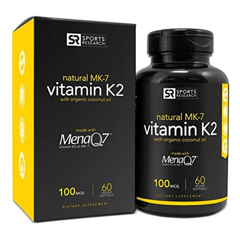 vitamin k1 for dogs vitamin k2 mk7 with organic coconut and menaq7 100mcg 60 veggie