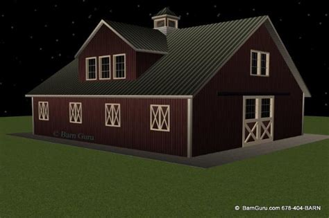 horse barn plans with living quarters 5 stalls 3 barn plans 5 stall horse barn 2 bedroom living quarters