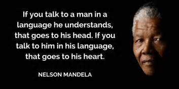 nelson mandela biography in spanish speaking to the head and the heart sarah howell miller