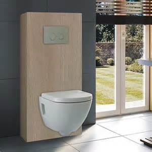 habillage de wc suspendu bati support espace aubade