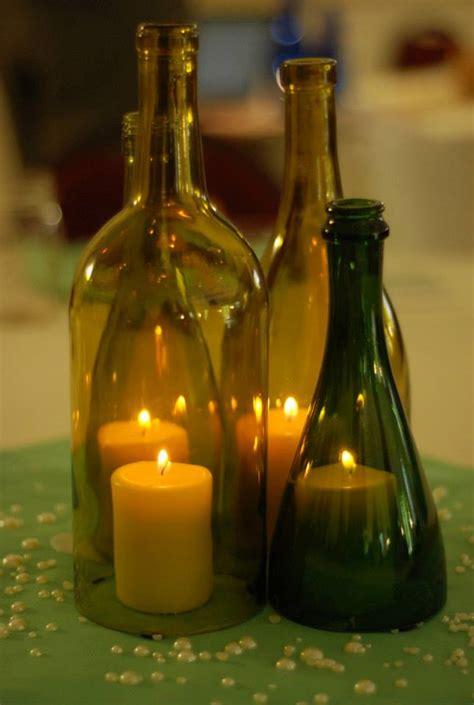 chagne bottle centerpieces wine bottle centerpieces by eowynmaid on deviantart