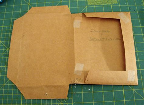 How Do You Make A Paper Book Cover - how to make shopping bag textbook covers in my own style