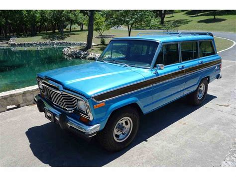 jeep wagoneer for sale 1978 jeep wagonmaster wagoneer for sale classiccars com