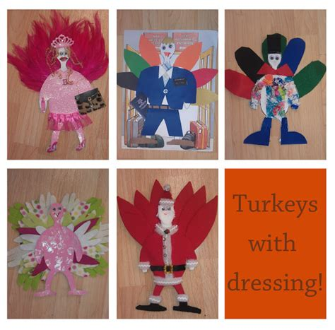 How To Decorate A Turkey For School by Thanksgiving Craft Turkey S With Dressing Preschool