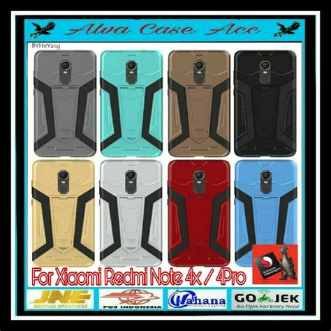 Terbaru Armor Softcase Carbon Xiaomi Redmi Note 4 Softcase Carbon jual xiaomi redmi note 4x iron robotic