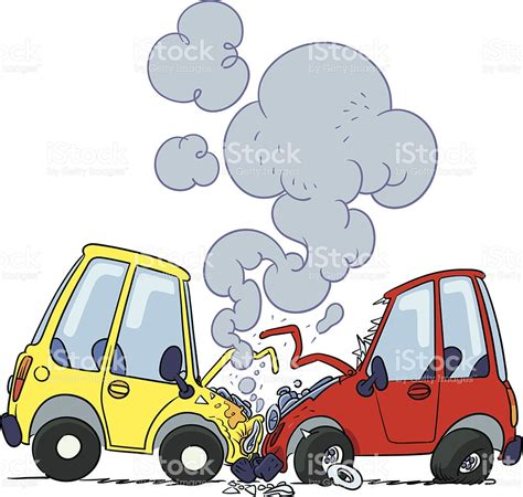 cartoon car crash crash clipart car cartoon pencil and in color crash