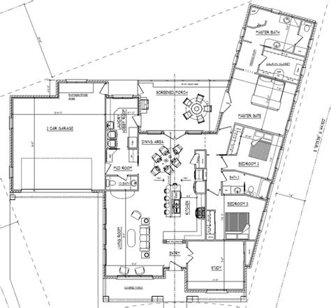 Cul De Sac Floor Plans | cul de sac craftsman bungalow craftsman floor plan
