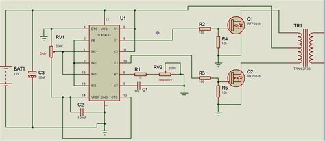 Tl494 Inverter Circuit by Simple Smps Ferrite Inverter