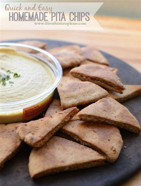 freshfromevaskitchen homemade pita chips with olive healthyrecipe homemade pita chips news an