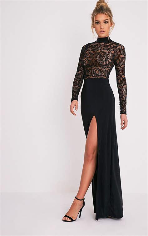 lace dresses black white pink dresses