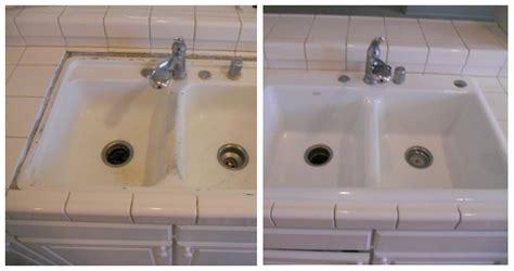 how to reglaze a sink reglazing kitchen sink