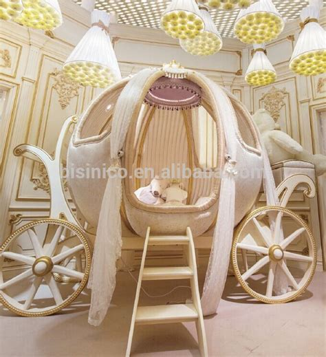 pumpkin carriage bed royal crown cinderella pumpkin coach bed luxury princess