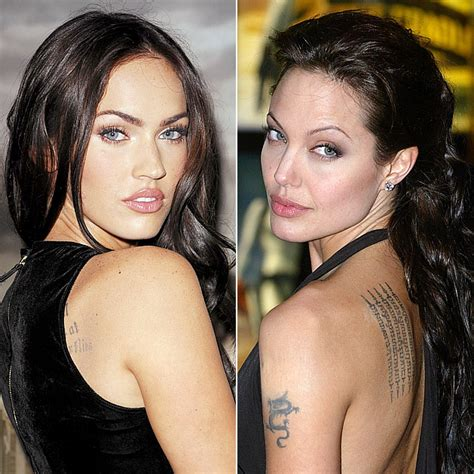 angelina jolie mad jealous of megan fox