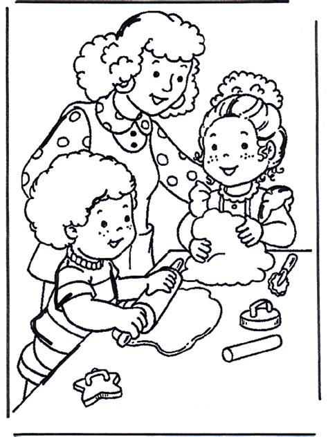 baking coloring coloring pages