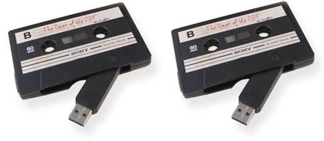 cassetta usb audio cassette style custom branded usb memory sticks