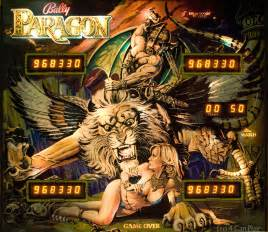 paragon bally quot paragon quot backglass pinball machines flickr
