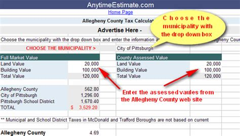 Allegheny County Property Tax Records Allegheny County Property Tax Assessment Search Lookup
