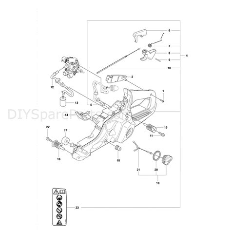 husqvarna chainsaw parts diagram husqvarna 560xp chainsaw 2011 parts diagram fuel tank