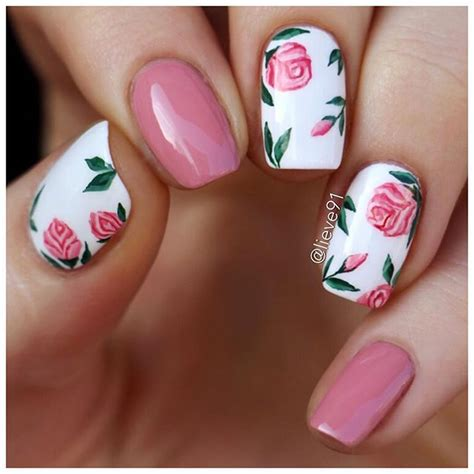 water pattern nails best 25 rose nails ideas on pinterest manicures nail