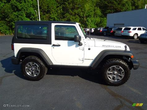 white jeep rubicon 2013 bright white jeep wrangler rubicon 4x4 70687755