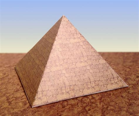 How To Make 3d Pyramid With Paper - paper pyramids