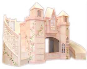 Castle theme bed w slide traditional kids houston by sweet