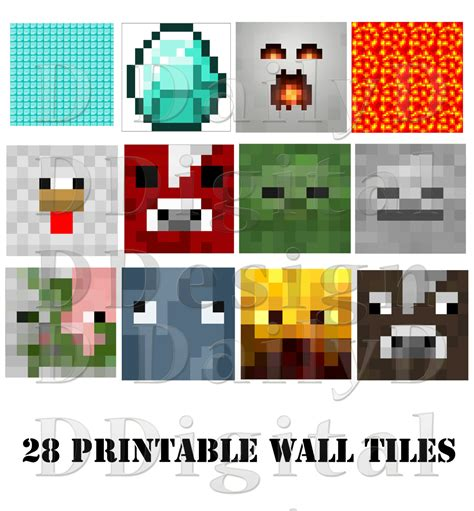 free printable minecraft birthday decorations 301 moved permanently