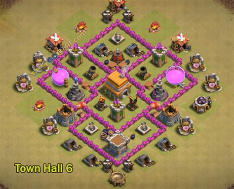 coc map layout th6 10 immortal th6 war base layouts for town hall 6 with 2