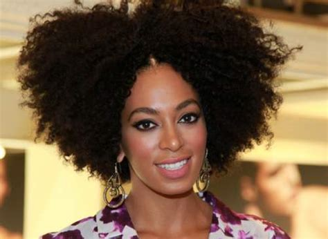 solange knowles natural solange knowles shares her natural secrets of flawless hair