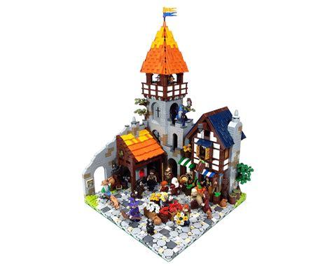 section 304a lego ideas medieval market street