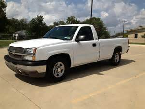 Bed Ls Used 2004 Chevrolet Silverado 1500 Ls Ext Cab Bed
